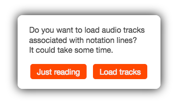 Audio track option